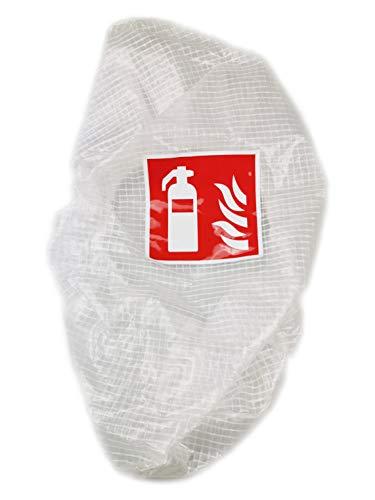 Schutzhaube für Feuerlöscher Abdeckung Schutz Gitternetzhaube Haube (Schutzhaube, 1 Stück)
