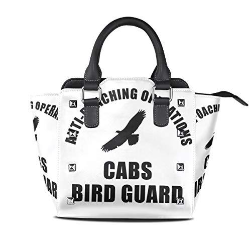 MONTOJ CABS-Logo Handtasche Damen Schultertasche