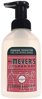 Mrs. Meyer's Foaming Hand Soap, Watermelon, 10 Fluid Ounce (Pack of 1)