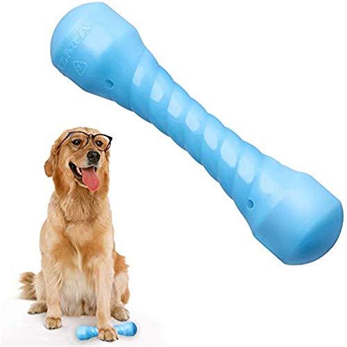 SUOLEITE Puppy Chew Toys für Aggressive Kauer, langlebig Dog Chew Bones Robust dauerhafte Gummi Dog Chew Spielzeug für große kleine Hunde