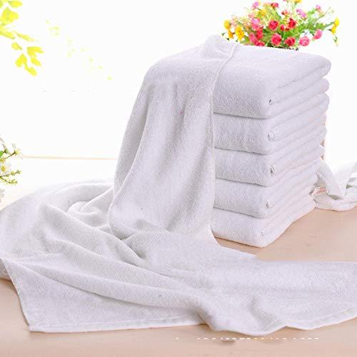Suave y Grueso Altamente algodón Toalla de Baño,Toalla Blanca de algodón Puro, Toalla Facial Absorbente (Paquete de 5),Juego de Toallas supersuaves