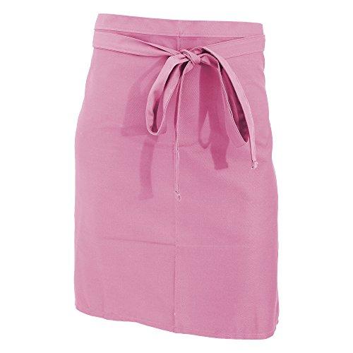 Jassz Bistro Unisex Bistro-Schürze/Bar-Schürze, kurz (Einheitsgröße) (Pink)