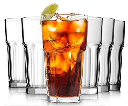 Juego de vasos de cóctel de 6 a 350 ml para vaso...