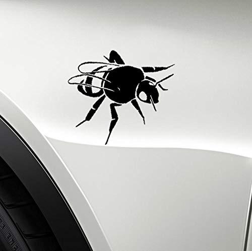 Zshhy2 Stück Insektenbiologie Honig Hummel Vinyl Aufkleber Auto Schwarz 17,5 Cm * 12