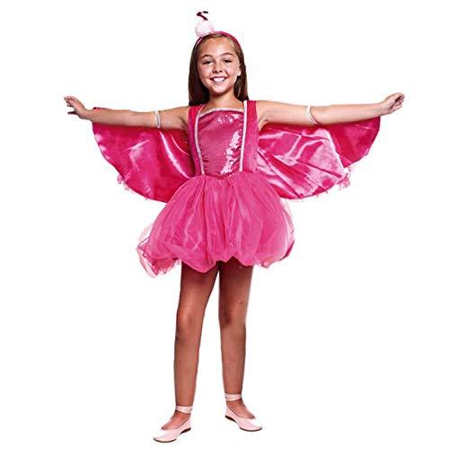 Disfraz Flamenco Rosa Pretty Niña (10-12 años) (+ Tallas) Carnaval Animales