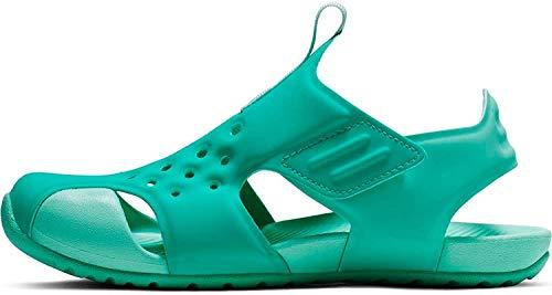 Nike Jungen Sunray Protect 2 (ps) Dusch- & Badeschuhe, Mehrfarbig (Hyper Jade/Teal Tint/Tropical Twist 000), 31 EU