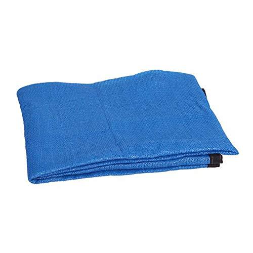 Vele parasole Xiaolin Telo ombreggiante al 75%, Rete Parasole Blu, Schermo Solare a 6 Pin