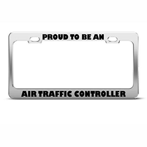 Stolz darauf, Air Traffic Controller Karriere Beruf Nummernschild Rahmen Halterung