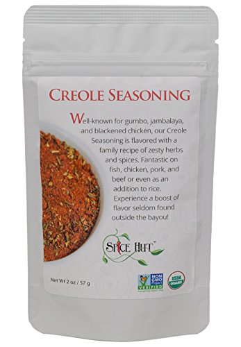 Creole Organic Seasoning /New Orleans/Louisiana cooking Gumbo & Jambalaya, The Spice Hut, 2 Oz