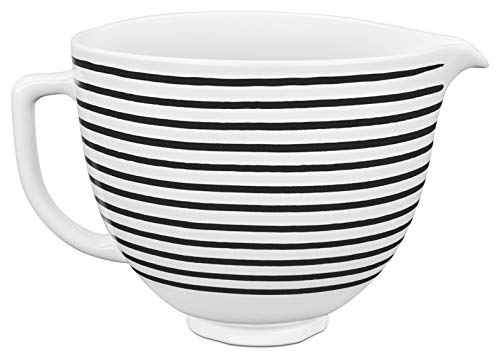 KitchenAid 5KSM2CB5PHS 4,7 L Keramikschüsse, Keramik, 4.7 liters, HORIZONTAL STRIPES