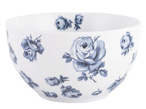 Katie Alice Vintage Indigo Floral Bol, Bleu