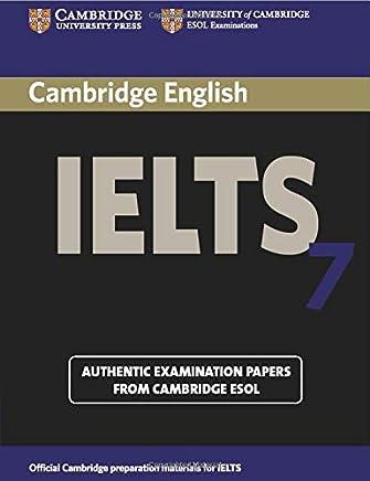 Amazon com: CAMBRIDGE IELTS BOOK 1 TO 7 - New / Test