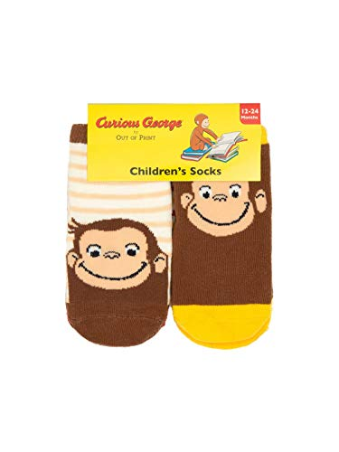 Curious George Socks 2T-3T 4-pack
