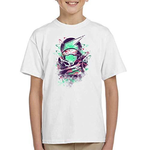 Water Colour Bounty Hunter Metroid Kid's T-Shirt