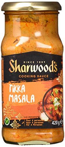 Sharwoods Tikka Kochsauce weniger Fett, 420 g