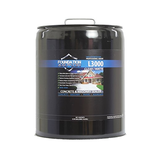 Lithium Silicate Concrete Hardener & Densifier - 5 Gallons (Makes 20 Gallons once diluted with water)