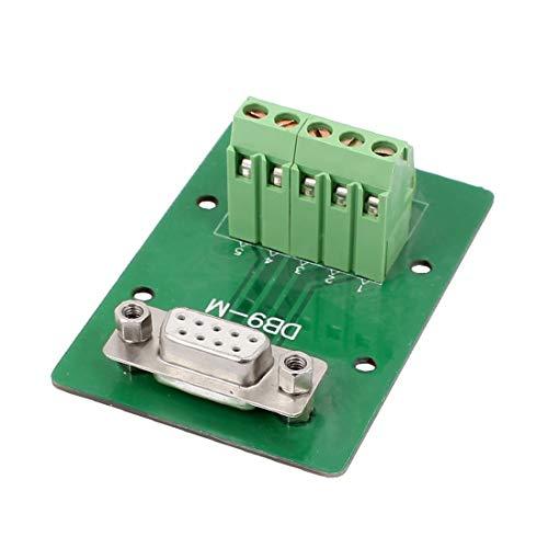 New Lon0167 DB9 9Pins Adaptador hembra Placa RS232 Serie a Terminal Módulo de Señal(DB9 9Pins Female Adapter Plate RS232 seriell zum Klemmensignalmodul