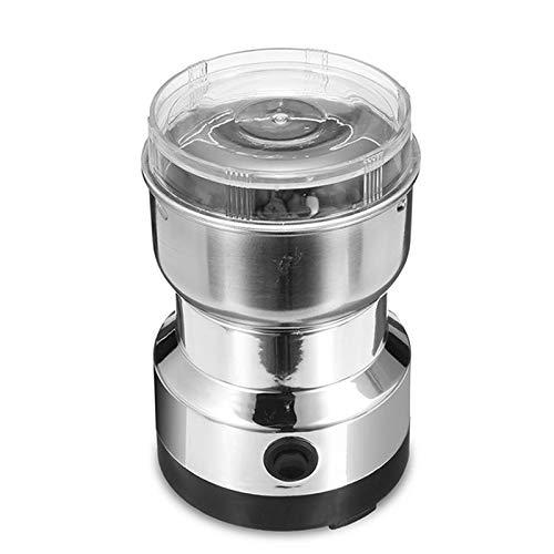 Lanceasy Household Mini Electric Grinder mit doppelten Edelstahlklingen Kaffeebohnenpulverherstellungsmaschine