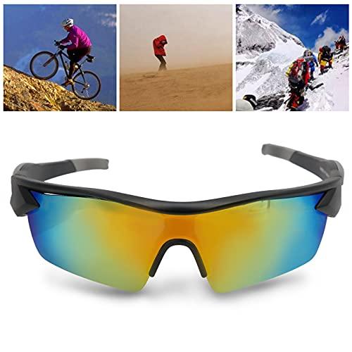Gafas de Sol Deportivas polarizadas, Gafas de Sol de Ciclismo Patillas Antideslizantes para Conducir