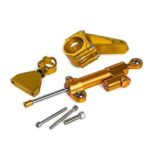 VRDN Hohe Qualität CNC Motorradlenkung stabilisieren Dämpferhalterungsmontage-Montagesatz für HO.N.DA CBR600 F4I 2001-2007 2002 2003 2004 2005 2006 100% neu (Color : Set2)