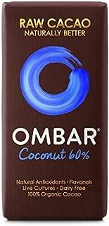Ombar 60% Coconut Raw Chocolate Bar - 35g