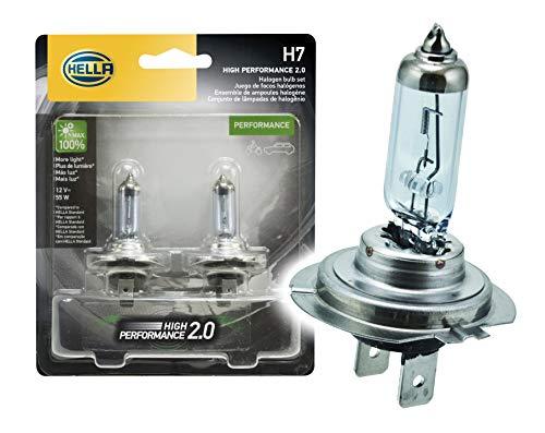 Par Lâmpada Halógena Hella H7 HP 2.0 - High Performance - 12V - 55W