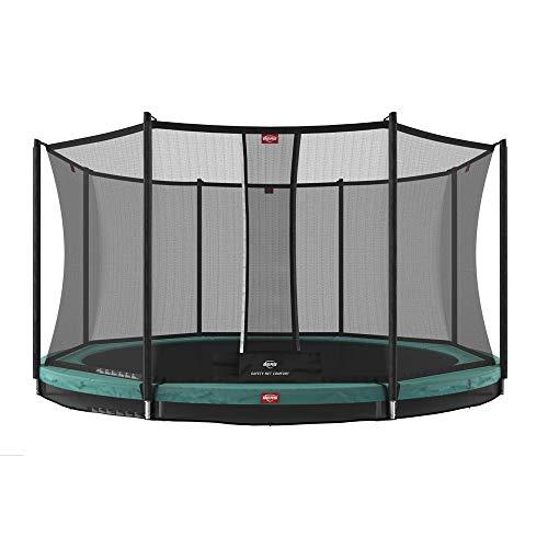 Berg Trampolin Favorit InGround 380 inklusiv Sicherheitsnetz Comfort | Gartentrampolin, Trampolin Outdoor mit Sicherheitsnetz, Trampolin Kinder, Kinder Trampolin für den Garten