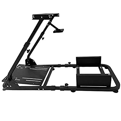 Racing Simulator Steering Wheel Stand Compatible with Logitech G29 Thrustmaster