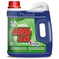 NEUTRAL SANI LIMPIADOR NEUTRO HIGIENIZANTE MULTISUPERFICIES Detergente con bio-alcohol de Ph neutro para la limpieza profunda e higienización de suelos y todo tipo de superficies lavables. Garrafa 4lt