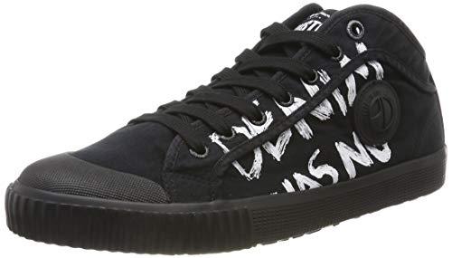 Pepe Jeans London Herren Industry Has NO Limits Sneaker, Schwarz (999black 999), 42 EU
