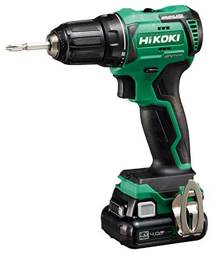 trapano avvitatore batteria senza spazzole Hikoki DS12DDWHZ Trapano avvitatore senza spazzole a batteria al litio 12 V (10.8 V)