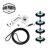 AMI PARTS Dryer Repair Kit Compatible for Samsung- DC97-16782A Dryer Roller 6602-001655 Dryer Belt,...