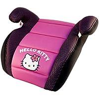 Sillita de auto Hello Kitty para niños, alzador - rosa y negro - 6 años o más