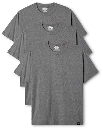 Dickies Herren Langarmshirt Streetwear Male T-Shirt Pk, Drk Grey Mel, L