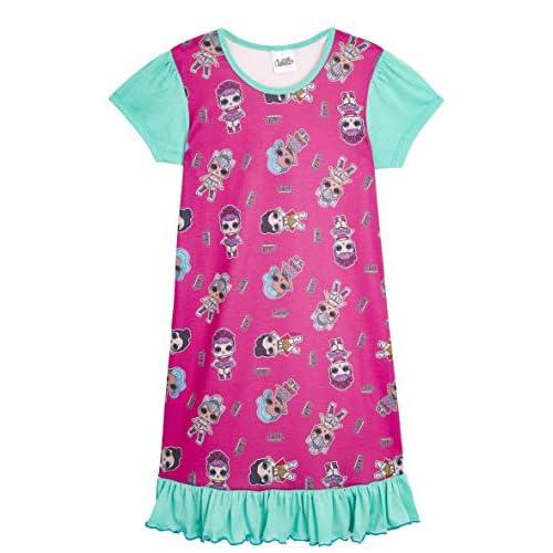L.O.L. Surprise! Camicia da Notte Pigiama Maniche Corte Estivo Bambina Confetti Pop Abiti da Notte per Bambine (9/10 Anni, Tutta la Stampa)