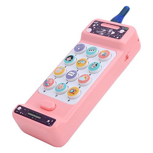 Modelo de teléfono Material del pezón Máquina de teléfono Juguete educativo electrónico Vocal electrónico Juguetes(Big Brother Weierfan mobile phone)