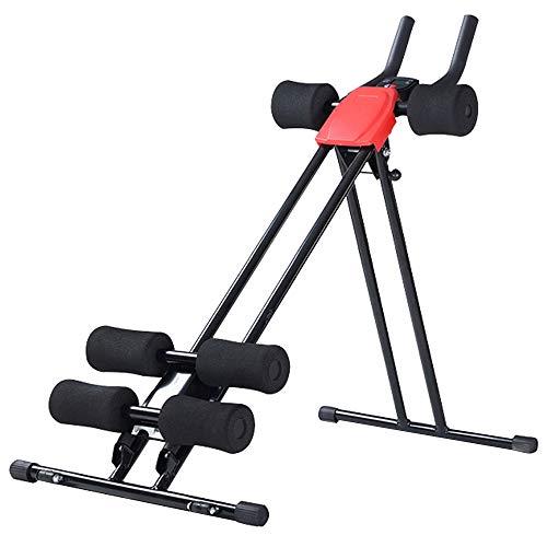 Maxiliving Bauchtrainer Bauchmuskeltrainer Trainingscomputer Bauchmuskeltraining Klappbar
