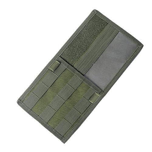 CQC Tactical Molle Vehículo Vehículo Panel de visera EDC herramienta bolsa de almacenamiento de cd camión coche sol visera organizador auto engranaje accesorios soporte EDC Multitool (Color : OD)