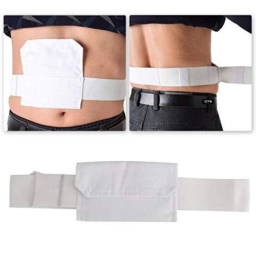 YUXIwang Cinturón de elevación de pacientes Correa de las mujeres Catéter de Diálisis Peritoneal de la correa ajustable del tubo peritoneal del paciente cinturón de protección con el bolso Paciente de