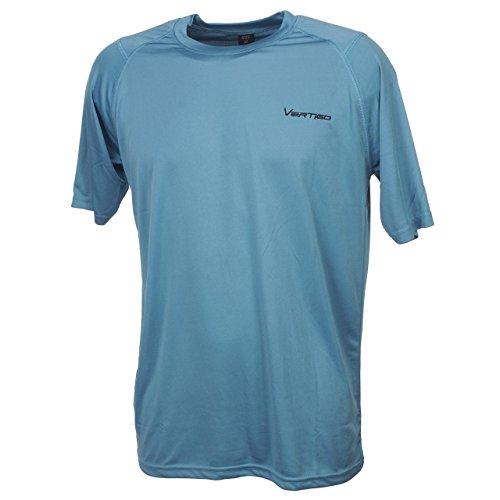 Alpes_vertigo - Babbler bleu mc tee - Tee shirt technique - Bleu moyen - Taille XL