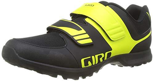 Giro Berm - Zapatillas Unisex, Color Negro y Citron, Talla 40