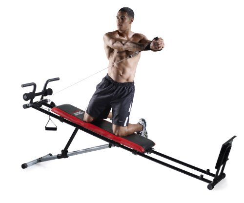 Product Image 6: Weider Ultimate Body Works Black/Red, Standard