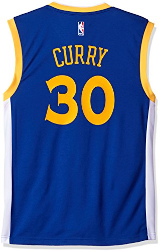 NBA Men's Golden State Warriors Kevin Durant Replica Player Home Jersey, 4X-Large, Blue