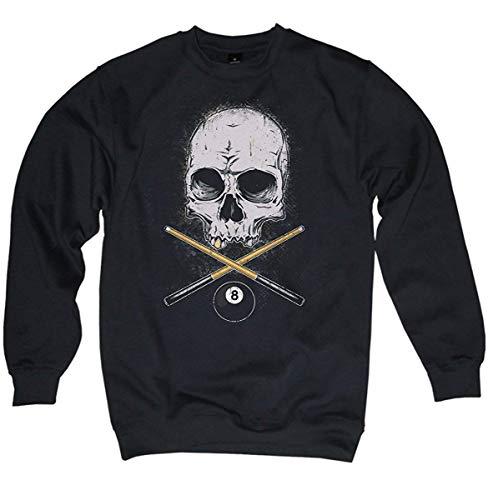 NG articlezz – Pullover – Billard Skull Oldschool Gr. S-3XL