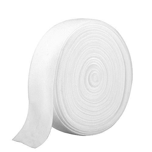 Ninepeak Fold-Over Elastic, 5 Yard (White.75 Inch)