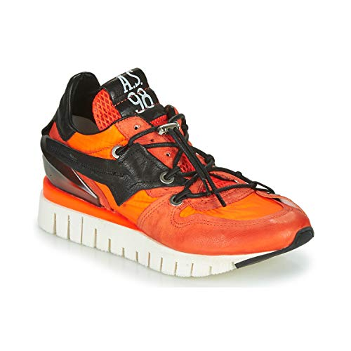 airstep / a.s.98 Denastar Sneaker Damen Orange - 40 - Sneaker Low Shoes