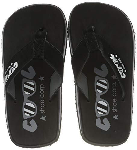 Cool shoe Original, Chanclas Niños, Black 2, 37 EU