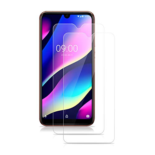 ROVLAK Panzerglas für Wiko View 3 Lite Schutzfolie 2 Stück Panzerglasfolie 9H Härte Bildschirmschutz Anti-Kratzen Tempered Glass Screen Protector 2.5D R&e Schutzglas HD Klar Folie für Wiko View 3 Lite