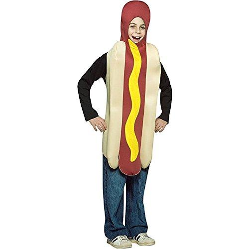 Hot Dog - Costume de déguisement pour enfants - 7 à 10 ans