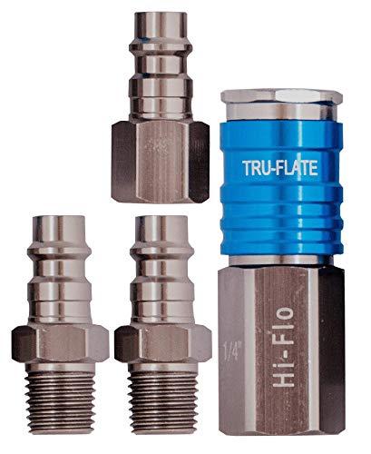 Tru-Flate 21-123 1//4 Male Hose End Barb Type Hose Fitting Plews /& Edelmann